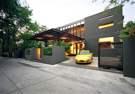 car porch modern minimalist modern house design home pinterest modern