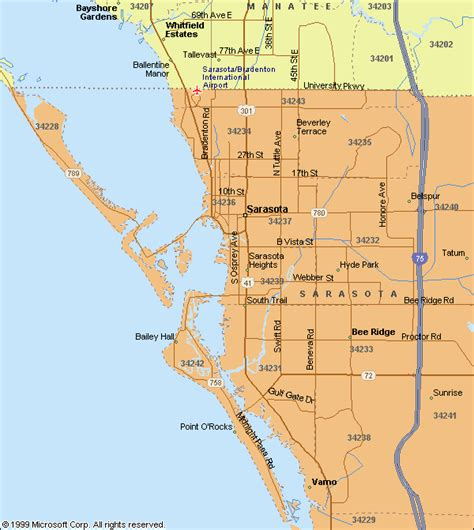 map of sarasota florida maps of sarasota