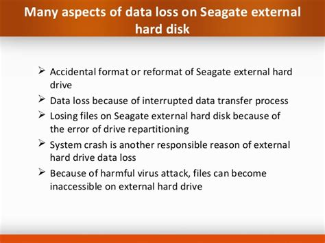 how to format seagate external hard drive in mac retrieving inaccessible files from seagate external hard drive