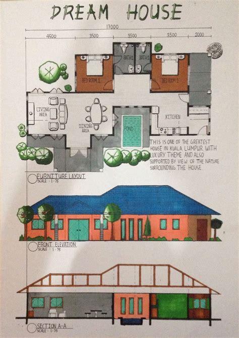 Floor Plan Grid Paper Design Communication 1 Vincentlunia