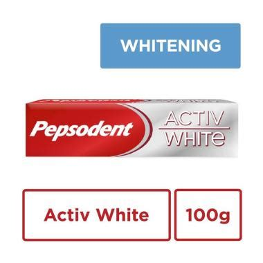 Jual Pepsodent Active White by Jual Pepsodent Activ White Pasta Gigi Toothpaste 100g
