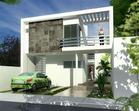 casas modernas fachadas de casas modernas con balcones