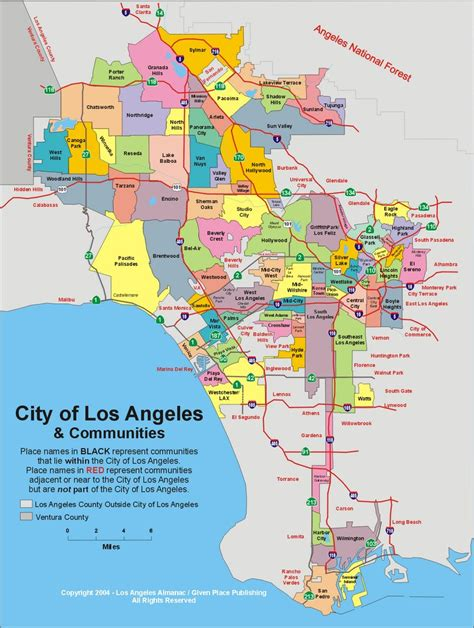 map to los angeles california serving cities hvac los angeles ca