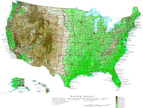 map of population density united states united states map in