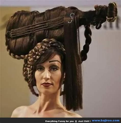 Funny Hairstyles Of Women You Never Seen Before 50 Photos