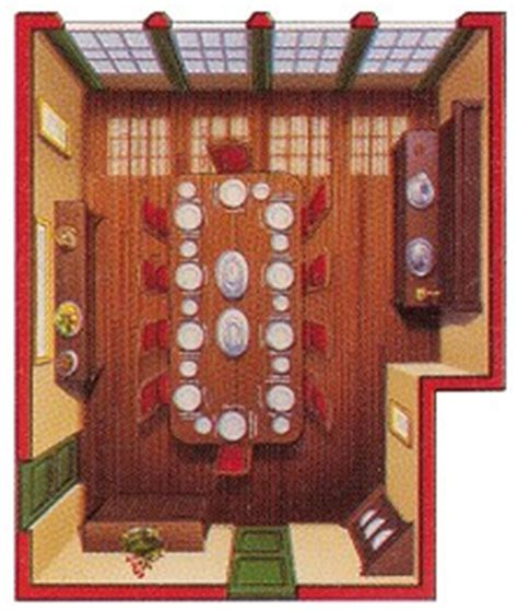 clue rooms gc1krtx triad clue the dining room traditional cache
