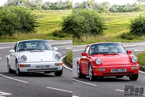 porsche 964 vs 993 porsche 964 head to head carrera 2 vs carrera 4 total 911