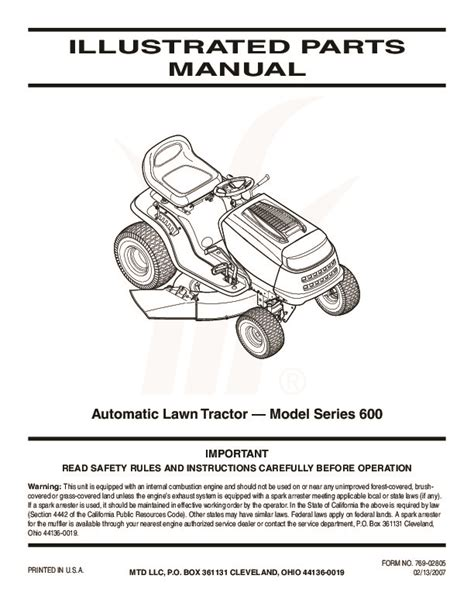 mtd yard machine wiring diagram mtd free engine image