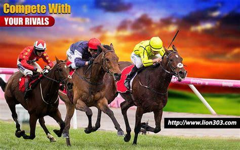 permainan balap kuda  balap anjing