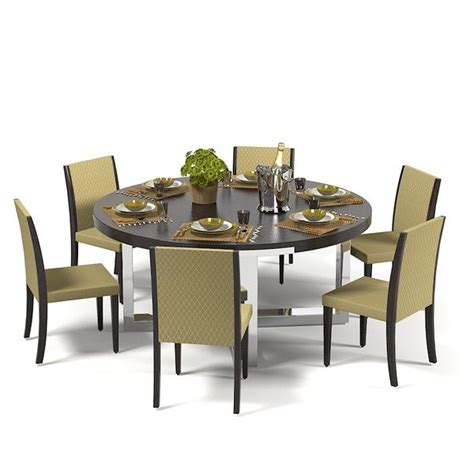 3d Dining Table 3d Misuraemme Dining Table Set Model Misuraemme Dining Table Set By Archstyle Home Design