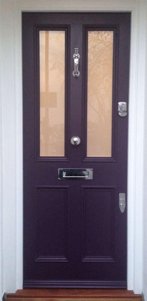 Exterior Door Furniture Splendid Front Door In Farrow S Pelt No 254 In Exterior Eggshell Doors