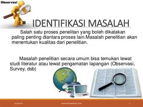 kriteria membuat rumusan masalah cara membuat rumusan masalah ptk www contoh identifikasi