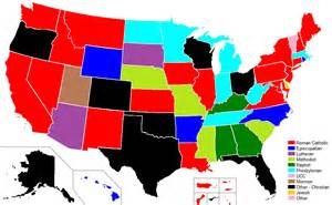 us map by religion 13 insightful maps of u s religion churchpop