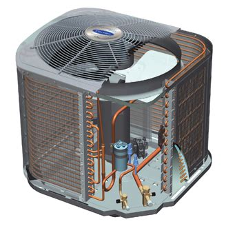 performance 17 central air conditioner 24acb7 carrier home comfort