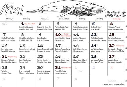Kalender 2018 April Mai Monatskalender Mai 2018 Pdf Drucken Kostenlos