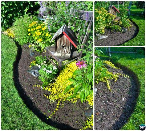 Creative Garden Edging Ideas Creative Garden Bed Edging Ideas Projects