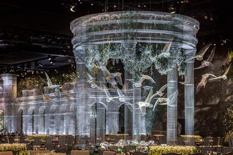 edoardo giardino an expansive pavilion of architectural elements
