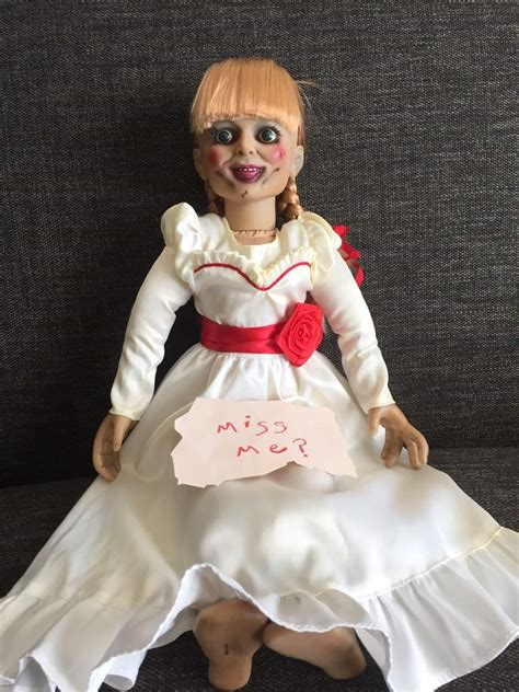 annabelle doll dress 18 quot prop replica annabelle doll toys amino