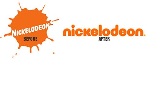 On Our Radar Provocateur Changes Font by Nickelodeon S New Logo Squint Your And It S