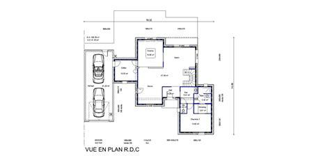 Plan Maison étage 4 Chambres 4289 by Plan De Maison 4 Chambres Avec Tage Plan De Maison