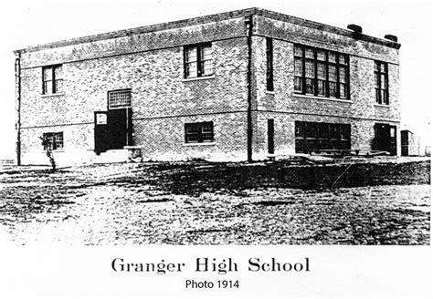 granger college williamson county historical co