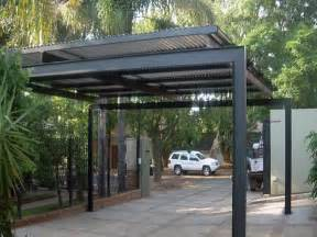 modern carport home