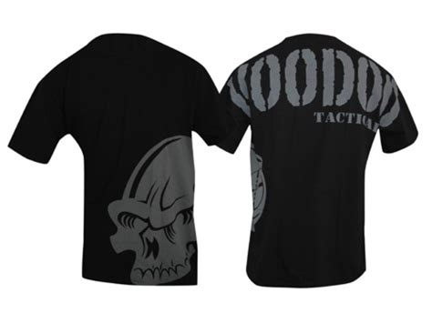 Voodoo Shirt voodoo tactical intimidator t shirt sleeve cotton