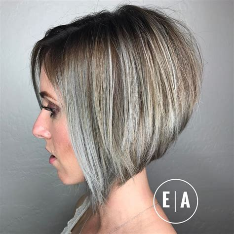 flattering easy thin gray haitstyles 10 flattering short straight hairstyles 2018 latest short