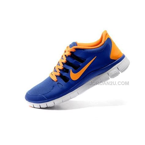 nike free run 5 0 v2 mens running shoes blue orange price