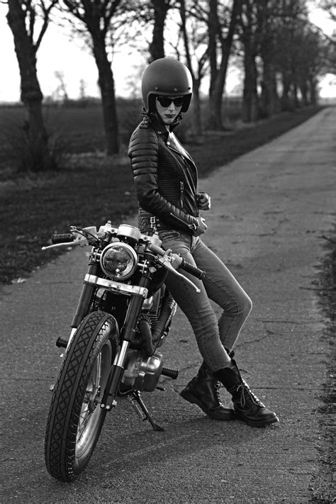 women s street motorcycle moto cafe racer lifestyle pinterest biker
