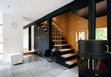 Garage Maison Moderne Interieur by Une Maison Moderne 224 La Cagne