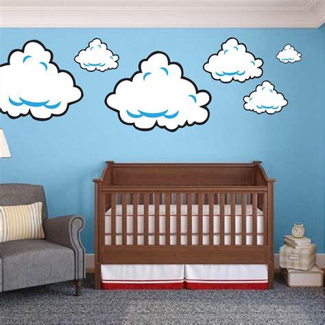 Mario Wall Mural super mario room cloud wall decal stickers bedroom cloud