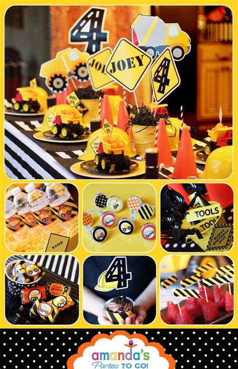 17 best images about birthday construction theme on