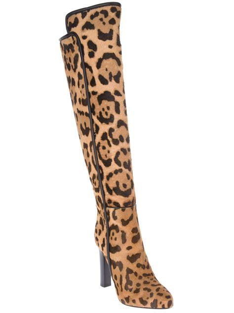 womens leopard boots roberto cavalli women s leopard print boot faeaa