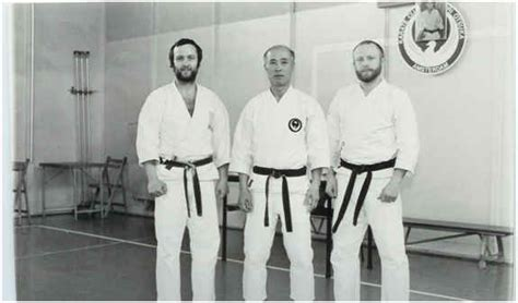 Tatsuo Suzuki Karate Sensei Tatsuo Suzuki And Sensei Wim Massee Karate Wado