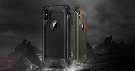 Spigen Iphone X Pro Guard Original mobile2go spigen pro guard iphone x