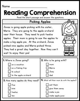 Reading Comprehension Worksheets 1st Grade by Best 20 Reading Comprehension Ideas On
