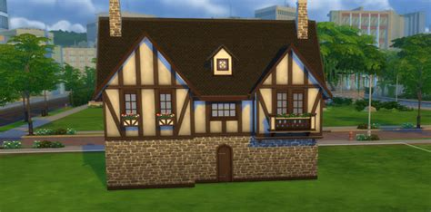 How to Build a Tudor House in The Sims 4   Sims Online