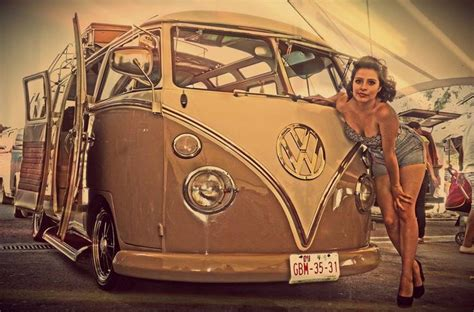 vw pinup girls images  pinterest vw beetles volkswagen beetles  vw bugs