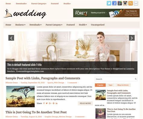 Wedding Templates For Blogger | perfect wedding blogger templates elaboration resume