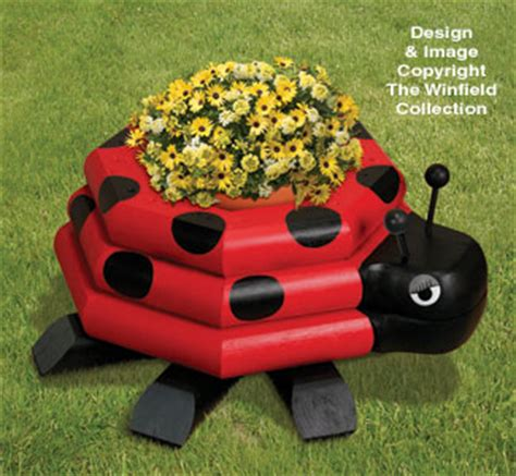 Ladybug Planter by New Items Landscape Timber Ladybug Planter Plan