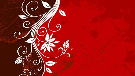 wallpaper design hd 15 red floral wallpapers floral patterns freecreatives