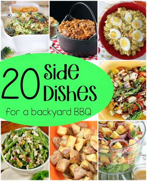 side dishes for a bbq dishes recipes and pig roast