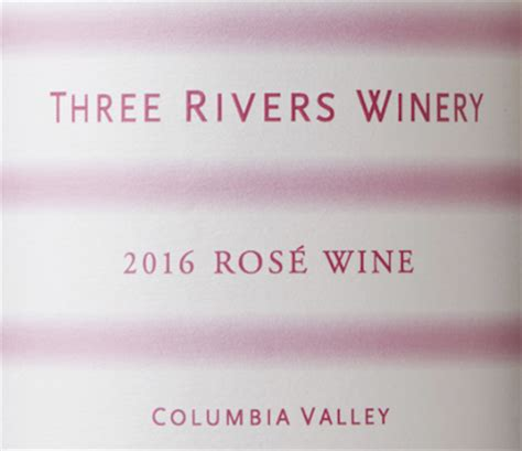 Three Rivers Columbia Detox by Three Rivers Winery 2016 Ros 233 Columbia Valley 14