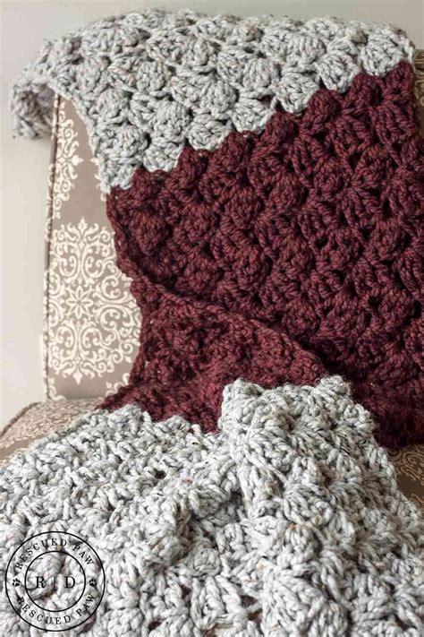knit and crochet daily free pattern fast beginner s crochet blanket
