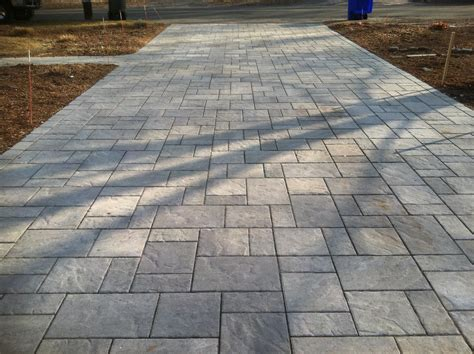 grey concrete driveway with border pictures to pin on pinterest pinsdaddy
