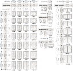 Standard din size standard window sizes guide