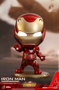 iron man dom avengers infinity war cosbaby bobble heads coming soon