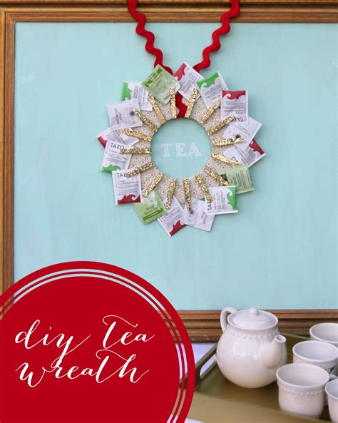Handmade Diy - handmade gift idea diy tea wreath