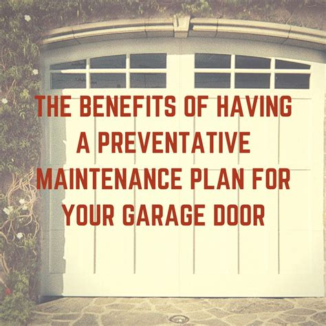 the benefits of a preventative maintenance plan for